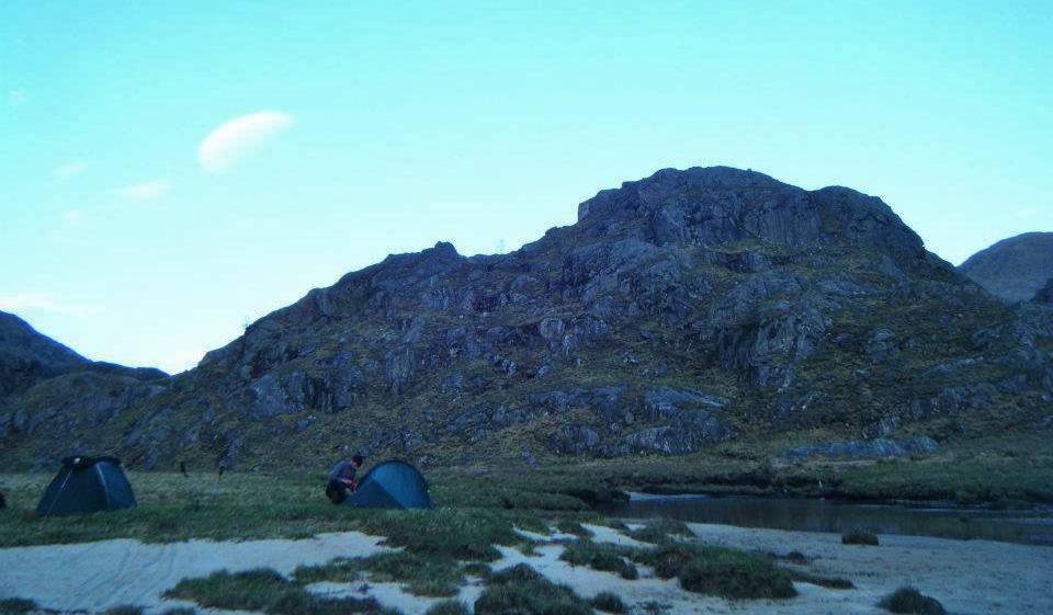 Wild Camping Tundra Enjoying the best of Knoydart.